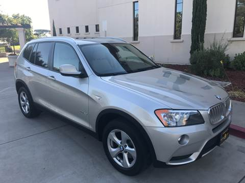 2011 BMW X3 for sale at Auto King in Roseville CA