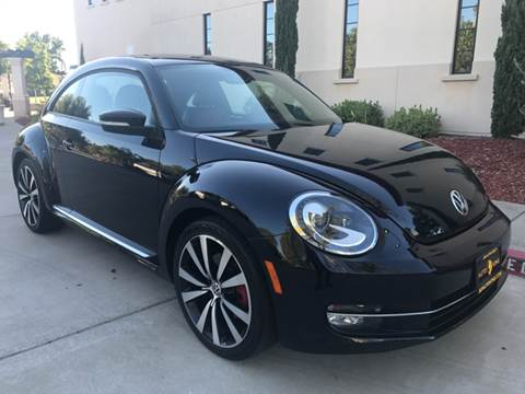 2012 Volkswagen Beetle for sale at Auto King in Roseville CA
