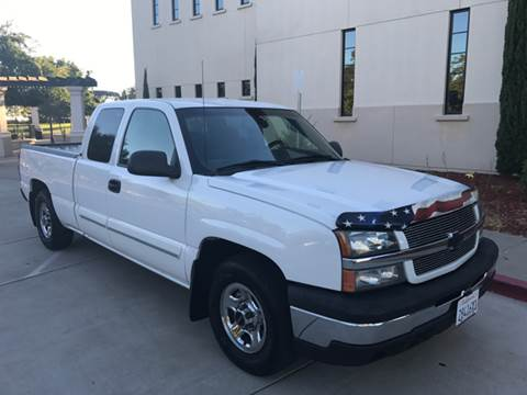2003 Chevrolet Silverado 1500 for sale at Auto King in Roseville CA