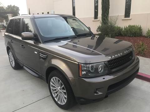 2010 Land Rover Range Rover Sport for sale at Auto King in Roseville CA