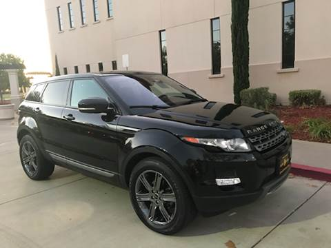 2013 Land Rover Range Rover Evoque for sale at Auto King in Roseville CA
