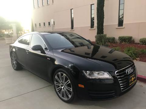 2012 Audi A7 for sale at Auto King in Roseville CA