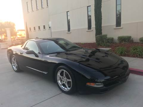 2004 Chevrolet Corvette for sale at Auto King in Roseville CA