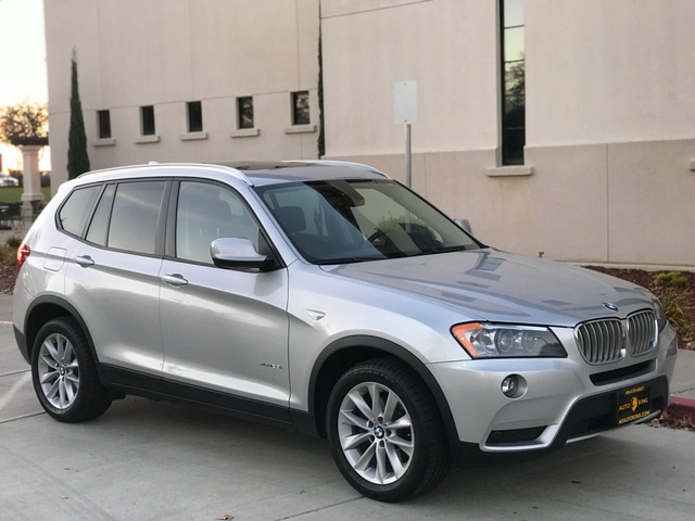 2013 BMW X3 for sale at Auto King in Roseville CA
