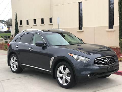 2010 Infiniti FX35 for sale at Auto King in Roseville CA