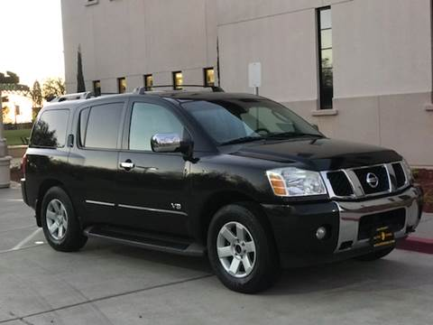 2007 Nissan Armada for sale at Auto King in Roseville CA