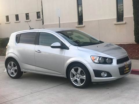 2015 Chevrolet Sonic for sale at Auto King in Roseville CA