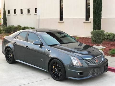2013 Cadillac CTS-V for sale at Auto King in Roseville CA