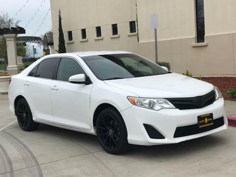 2012 Toyota Camry for sale at Auto King in Roseville CA