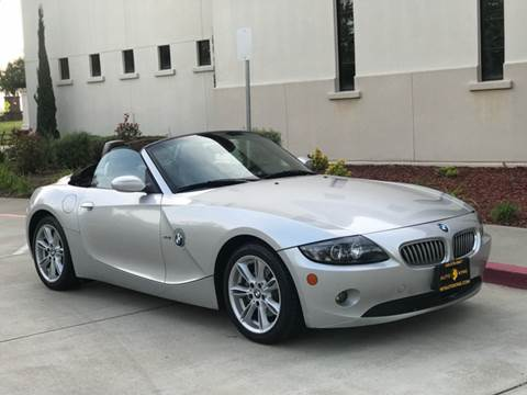 2005 BMW Z4 for sale at Auto King in Roseville CA