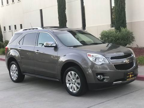 2011 Chevrolet Equinox for sale at Auto King in Roseville CA