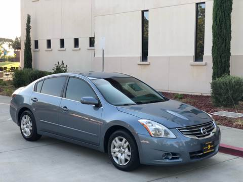 2012 Nissan Altima for sale at Auto King in Roseville CA