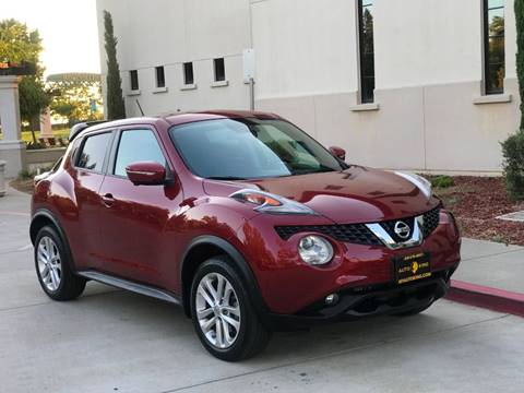 2015 Nissan JUKE for sale at Auto King in Roseville CA