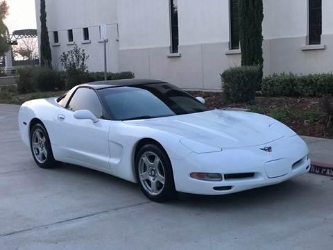 1999 Chevrolet Corvette for sale at Auto King in Roseville CA