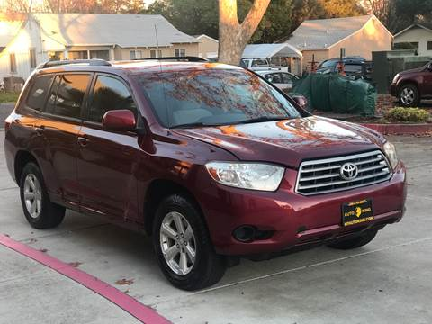 2008 Toyota Highlander for sale at Auto King in Roseville CA