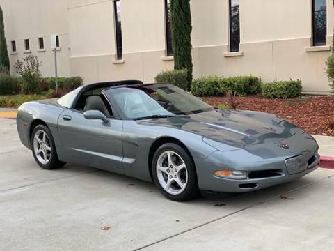 2004 Chevrolet Corvette for sale at Auto King in Roseville CA