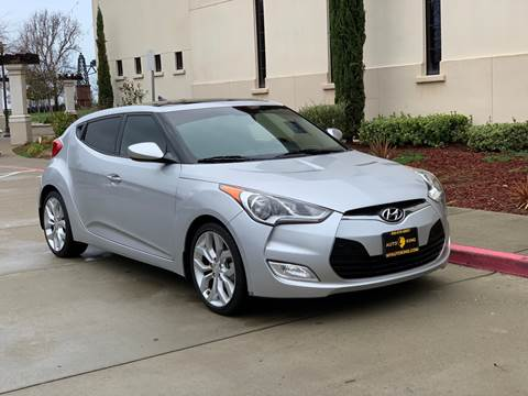 2013 Hyundai Veloster for sale at Auto King in Roseville CA