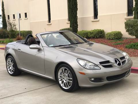 2007 Mercedes-Benz SLK for sale at Auto King in Roseville CA