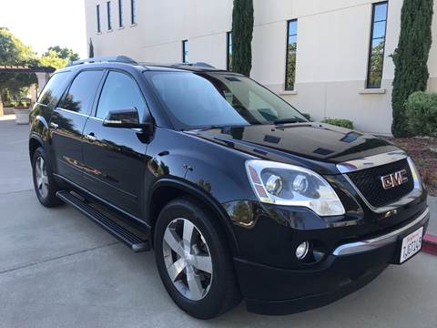 2011 GMC Acadia for sale at Auto King in Roseville CA