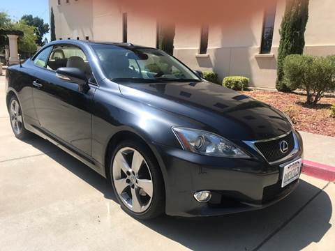 2010 Lexus IS 250C for sale at Auto King in Roseville CA