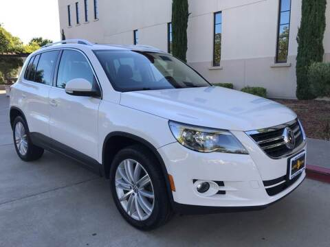2011 Volkswagen Tiguan for sale at Auto King in Roseville CA