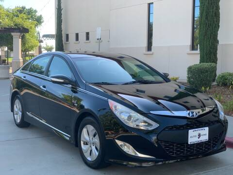 2015 Hyundai Sonata Hybrid for sale at Auto King in Roseville CA