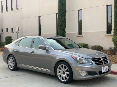 2013 Hyundai Equus for sale at Auto King in Roseville CA