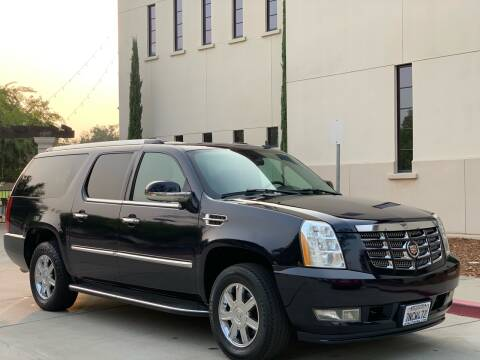 2007 Cadillac Escalade ESV for sale at Auto King in Roseville CA