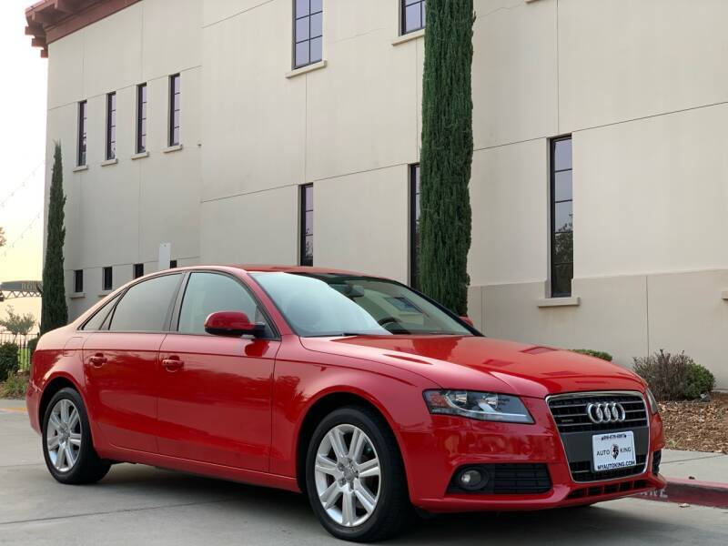 2011 Audi A4 for sale at Auto King in Roseville CA