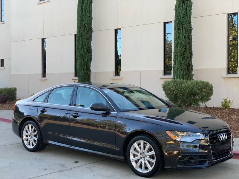 2012 Audi A6 for sale at Auto King in Roseville CA