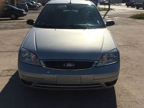 2005 Ford Focus for sale at North Loop West Auto Sales in Houston TX