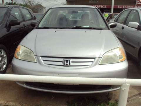 2001 Honda Civic for sale at North Loop West Auto Sales in Houston TX