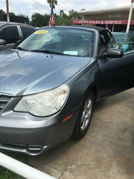 2008 Chrysler Sebring for sale at North Loop West Auto Sales in Houston TX
