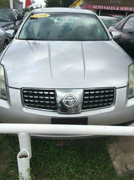 2004 Nissan Maxima for sale at North Loop West Auto Sales in Houston TX