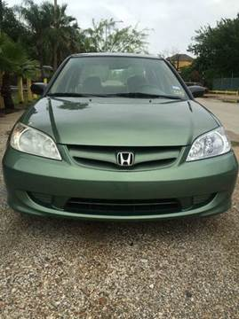 2004 Honda Civic for sale at North Loop West Auto Sales in Houston TX
