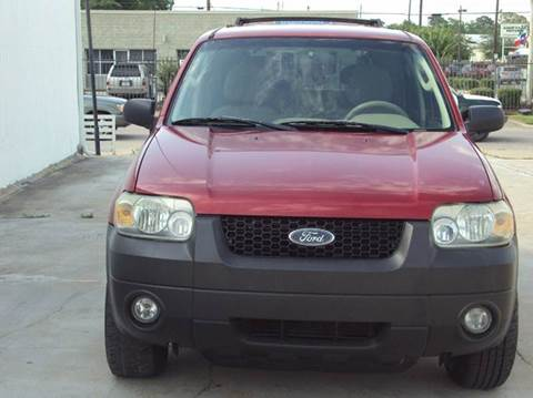 2006 Ford Escape for sale at North Loop West Auto Sales in Houston TX