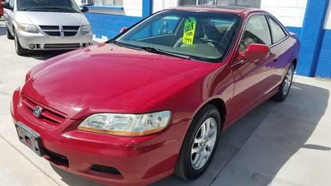 2001 Honda Accord for sale in Rupert, ID