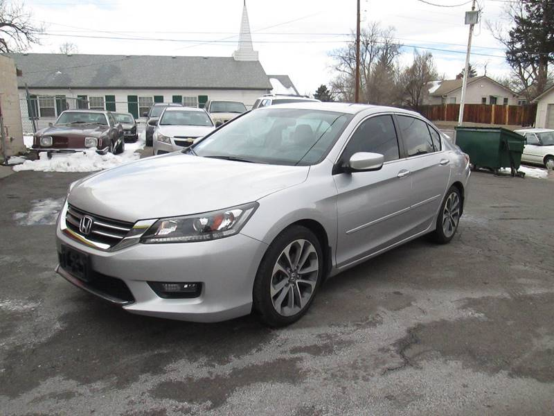 2014 Honda Accord Sport For Sale >> 2014 Honda Accord Sport In Englewood Co Rags To Riches Auto Sales