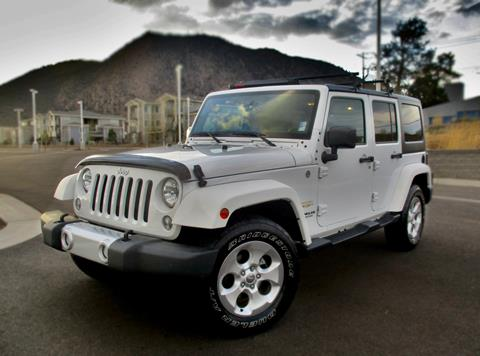 2015 Jeep Wrangler Unlimited for sale in Flagstaff, AZ