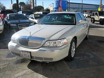 2007 Lincoln Town Car for sale in North Hollywood, CA