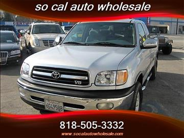 2000 Toyota Tundra for sale in North Hollywood, CA