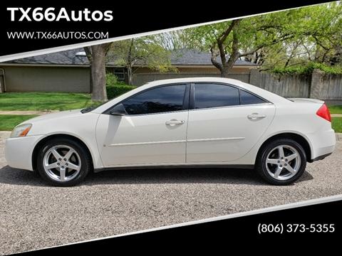 2008 Pontiac G6 for sale in Amarillo, TX