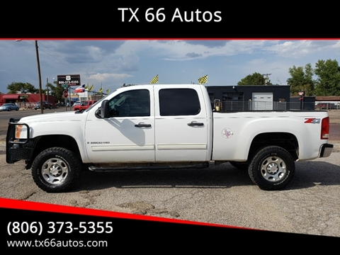2009 GMC Sierra 2500HD for sale in Amarillo, TX