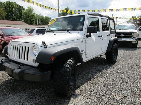 2014 Jeep Wrangler Unlimited for sale in New Philadelphia, OH