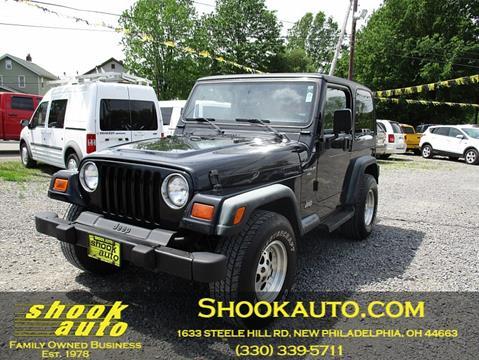 1998 Jeep Wrangler for sale in New Philadelphia, OH