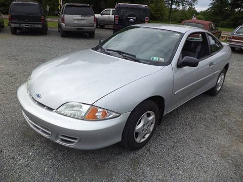 2001 Chevrolet Cavalier for sale in Gilbertsville, PA