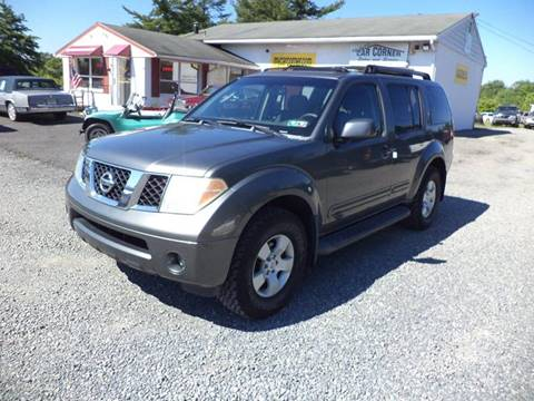 2006 Nissan Pathfinder for sale in Gilbertsville, PA