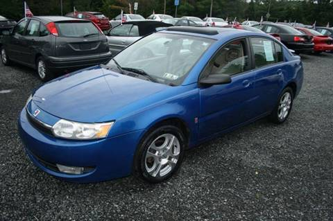 2004 Saturn Ion for sale in Gilbertsville, PA