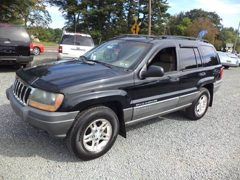 2002 Jeep Grand Cherokee for sale in Gilbertsville, PA
