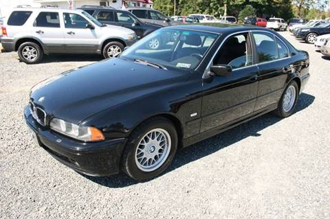 2001 BMW 5 Series for sale in Gilbertsville, PA